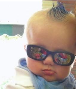 Baby mohawk