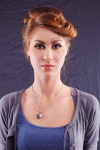 Beautiful Woman Luxury Makeup