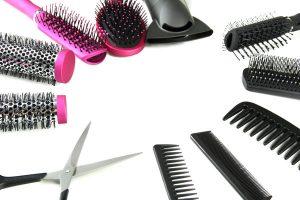 Clayton Hair Salon hairbrush